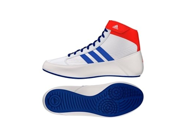 Adidas Junior Kids Havoc Boxing Wrestling Boots White